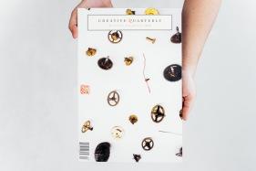 Best of Category - Sheetfed Magazines  Creative Quarterly No. 40