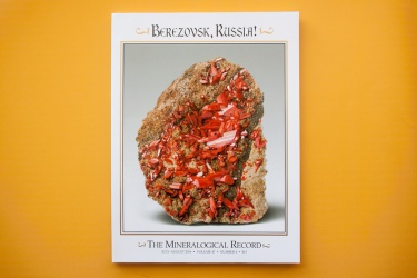 Silver Best of Kansas City and Best of Category-Web Magazines, Periodicals and Publications  The Mineralogical Record ,Berezovsk, Russia!