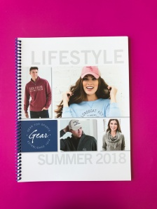 Gear for Sports Summer 2018 Lifestyle Catalog – Binding, Comb, Spiral, Wire-O or Coil